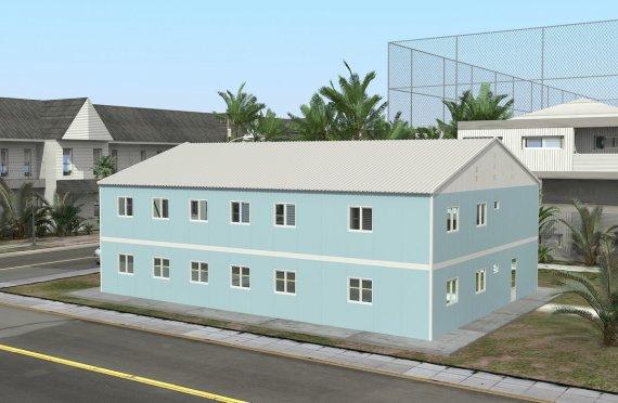 Hôpital Modulaire 506 m²