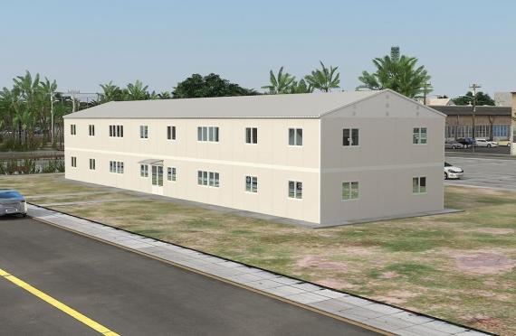Bureau Préfabriqué 588 m²