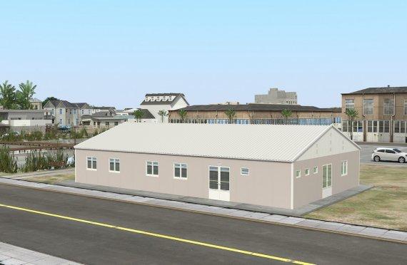 Réfectoire Modulaire 217 m²