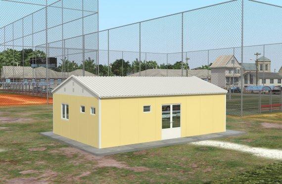 Réfectoire Modulaire 65 m²
