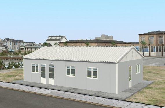 Réfectoire Modulaire 89 m²