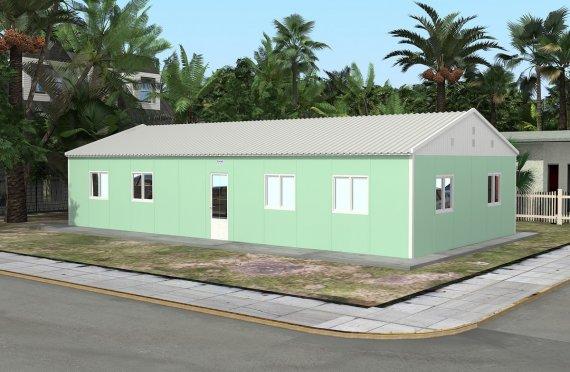 Ecole Modulaire 117 m²