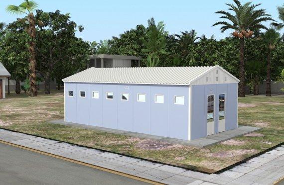Wc-Douche Préfabriquée 52 m²