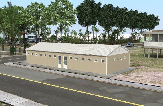 Wc-Douche Préfabriquée 145 m²