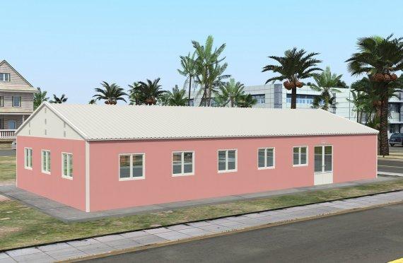 réfectoire préfabriqué 170 m2