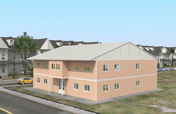 Ecole Modulaire 594 m²