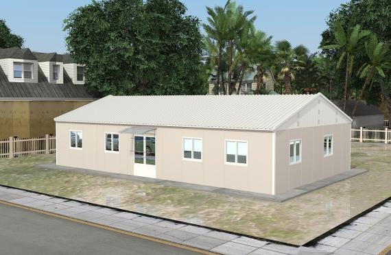Bureau Préfabriqué 136 m²