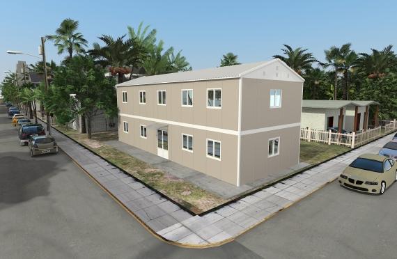 Bureau Préfabriqué 214 m²