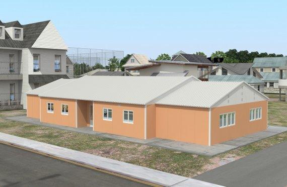 Ecole Modulaire 272 m²