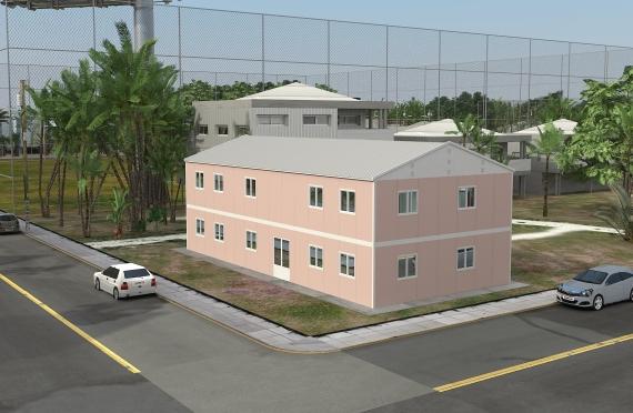 Bureau Préfabriqué 340 m²