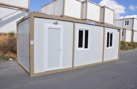 Bungalow de chantier cabine de chantier conteneurs modulaires - Prix maison conteneur ...