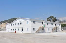 Construction d'École Modulaire