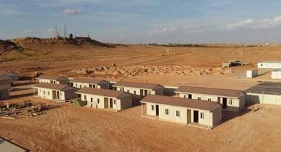 Projet préfabriqué de logements à prix moindre et abordable en Algérie
