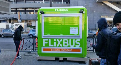 Les billetteries Flixbus de Karmod