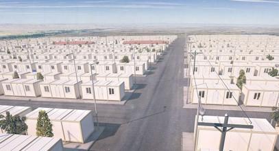 Projet de construction de conteneurs pour les réfugiés Syriens