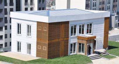 Pour la ville de Simpaş Bosphore des bureaux de vente luxe préfabriquée