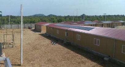 Karmod a achevé des installations militaires au Nigeria