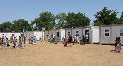 Projet d'école au Nigeria