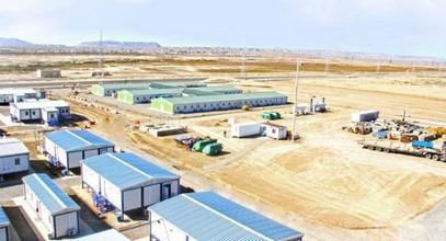 Bâtiments préfabriqués de Karmod pour le projet de gazoduc européen