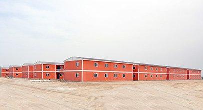 En 7 mois nous avons terminé le plus grand projet d'habitation au monde