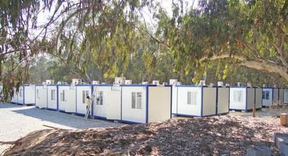 La Libye a reçu un complexe de constructions de conteneurs Karmod