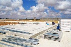 chantier  d'extraction de pétrole en Libye