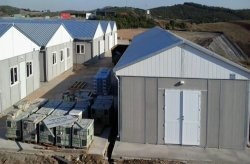 Prefab Buildings | We executed a Thermal Plants Construction Site in Canakkale Biga