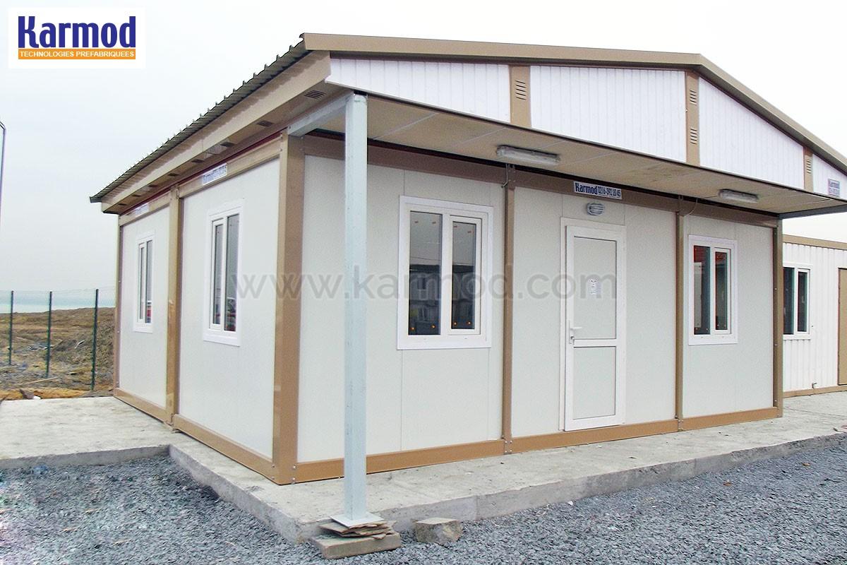 Maison conteneur cl en main container modulaire photo for Maison modulaire container