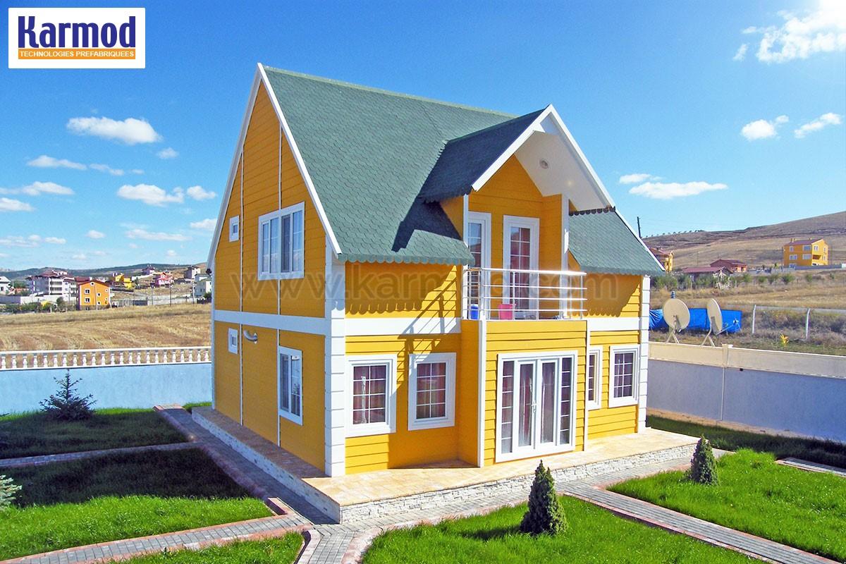 maison structure m tallique b timents en acier. Black Bedroom Furniture Sets. Home Design Ideas