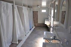 interieur d douche conteneur