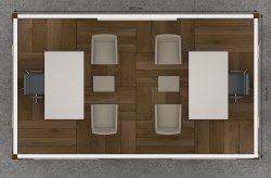 plan cabine bureau