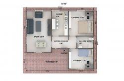 plan de maison moderne reunion