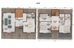Plan de Maison Préfabriquée