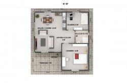 plan de maison préfabriquée congo brazzaville