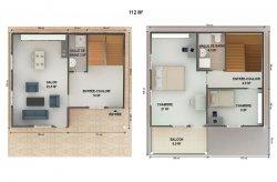 plan de maison préfabriquée senegal